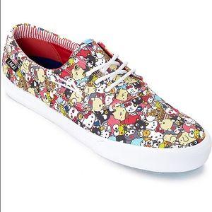 Lakai Hello Sanrio Camby Lace Up Sneakers
